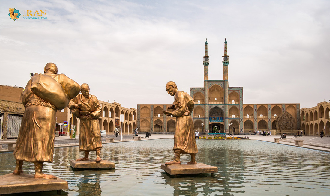 Amir Chakhmaq Square in Yazd,Iran attractions,Yazd attractions,Amir Chakhmaq complex,travel to Iran,Iran tour ,tour & travel agency