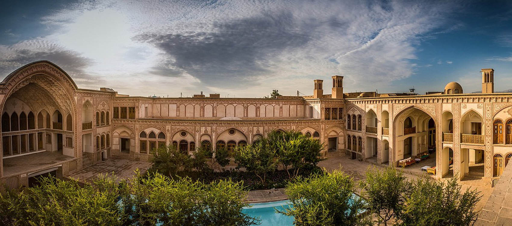 Amerian House,Kashan,Iran Attraction,attraction in Kashan,Iran tour packages,Iran welcomes you,Iranian tour operator,Trip to Persia